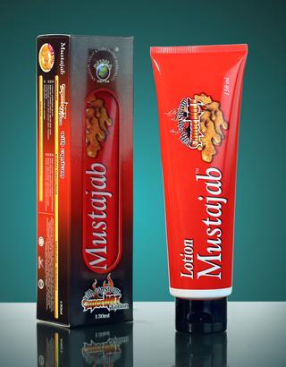 Losyen Mustajab Pati Halia Super Hot