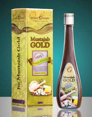single jus mustajab gold